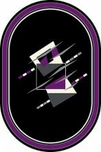 SUNRISE - mrt8 - BLACK-VIOLET