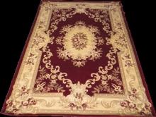 Woolen Machine-made carpets - ZY0916MA - RED