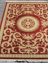 Woolen Machine-made carpets - ZY2336MA - RED